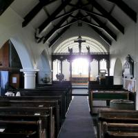 SX0990 : St. Symphorian's church, Forrabury - interior