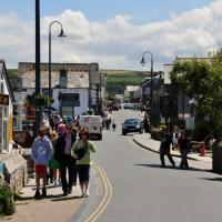 SX0588 : Tintagel : Fore Street