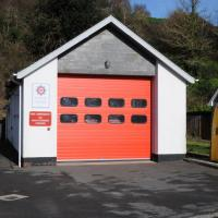 SX7339 : Salcombe Fire Station