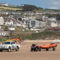 SS4543 : Lifeguards on Woolacombe Beach