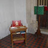 SU0195 : Inside All Saints, Somerford Keynes (D)