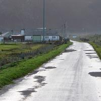 SH6113 : Entering Fairbourne from the north