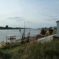 TF6120 : River bank, Great Ouse, Kings Lynn
