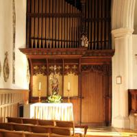 TG2308 : St John the Baptist, Timberhill - North aisle