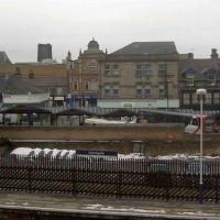 SE3055 : Harrogate Station and skyline