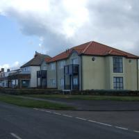 NU2329 : Houses on Harbour Road, Beadnell