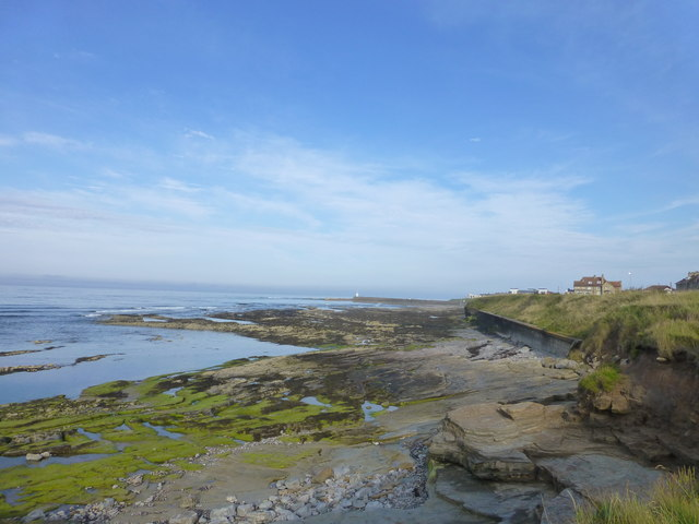 NU2132 : The seafront at Seahouses